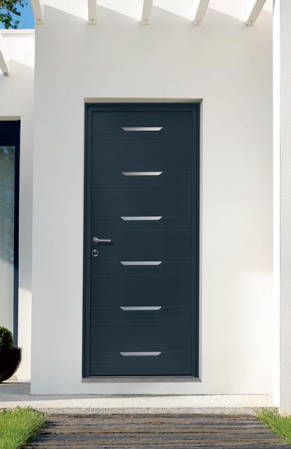 Porte entr e alu ideal fermeture Fermeture de porte d entree